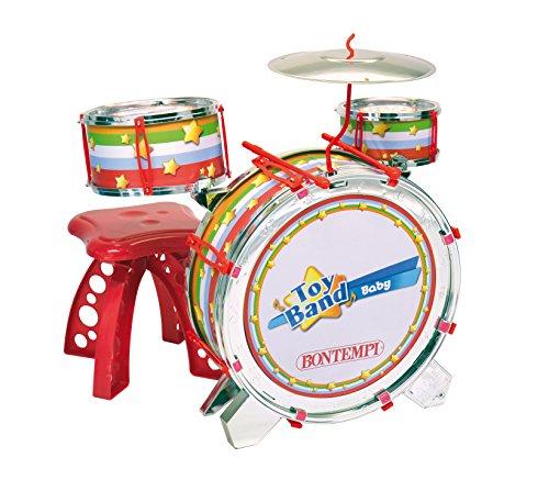 Bontempi Rock Drum mit Lichteffekten und Hocker