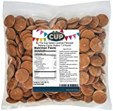 By The Cup Salted Caramel Flavored Melting Candy Wafers 1.5 Pound