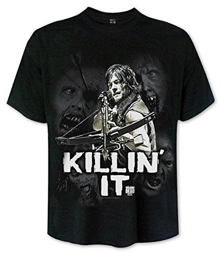 T-shirt The Walking Dead Killin' It Daryl Dixon - M