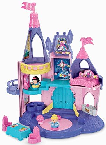 Fisher Priceフィッシャープライス製 ディズニー・プリンセスのソングパレス(ドールハウス・お人形遊び)