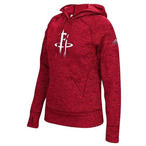 adidas NBA - Sudadera con Capucha de Forro Polar para Mujer, Mujer, Sudadera de Forro Polar con Logotipo del Equipo., 405FW PYHW, Rojo, M