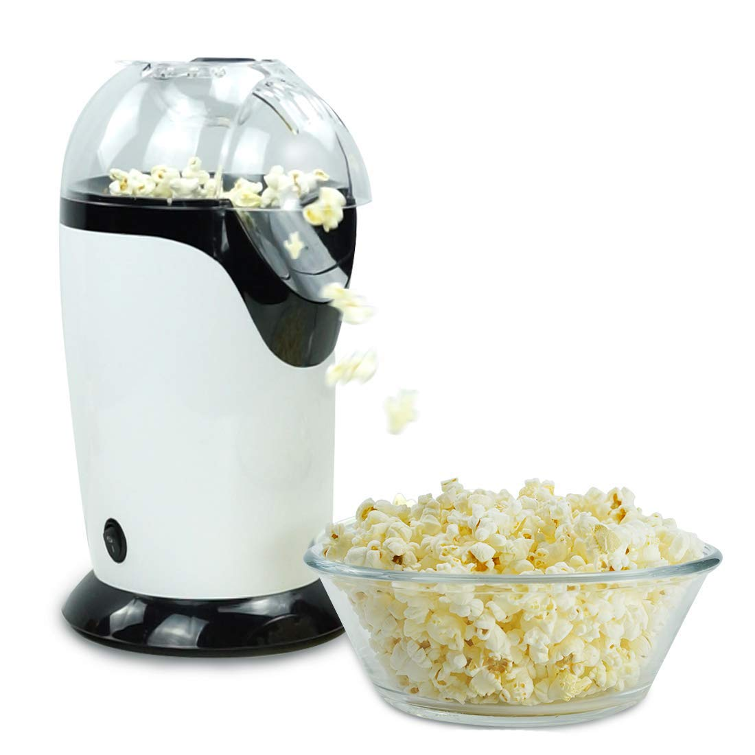 Popper de palomitas de maíz de aire caliente, máquina de hacer palomitas de maíz, máquina eléctrica