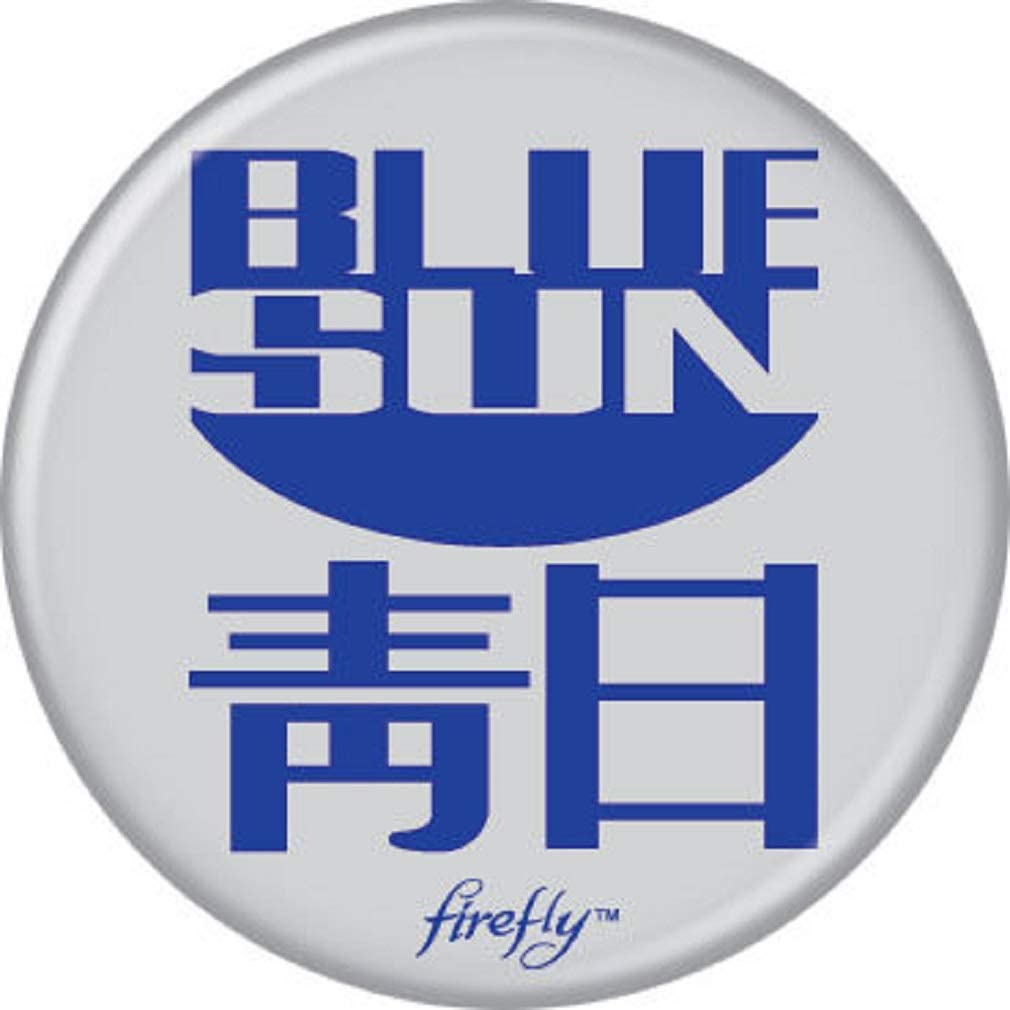 El Paso Virginia Beach Mall Mall Ata-Boy Firefly Blue Sun Officially More Patch Licensed and Pin