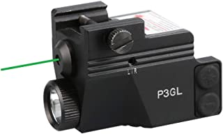 HiLight P3GL 500 lm Strobe Pistol Flashlight & Green Laser Sight Combo (Air Craft..