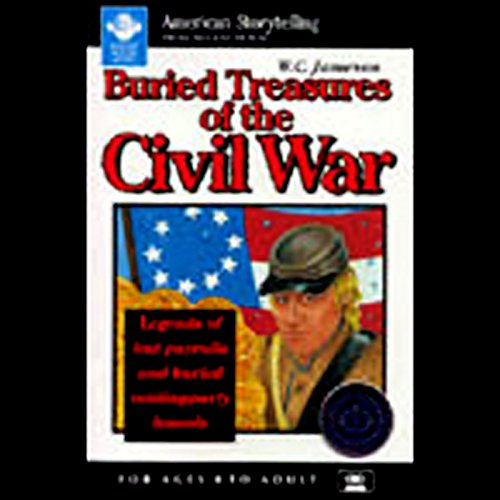 Buried Treasures of the Civil War audiobook cover art