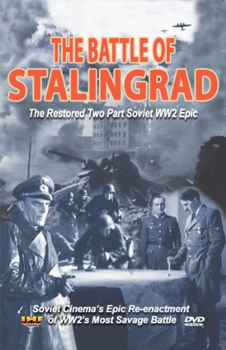 Battle of Stalingrad: The Restored Two Part Soviet WW2 Epic DVD