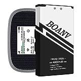 BOANV 4800mAh Ultra High Capacity Replacement Battery for Novatel Jetpack MiFi 8800L Mobile Hotspot P/N: 40123117