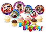 Crafting Mania LLC. 12 Betty Boop Birthday Inspired Party Picks, Cupcake Picks, Cupcake Toppers #1