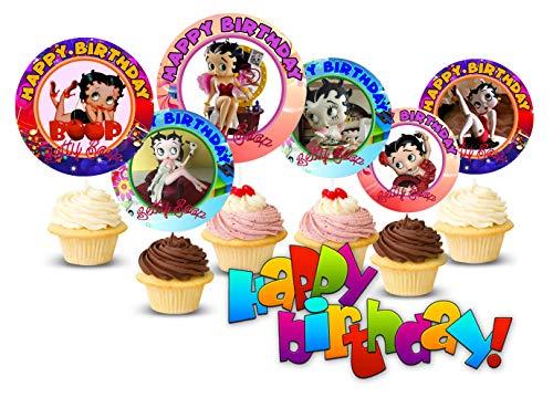 Crafting Mania LLC. 12 Betty Boop B…