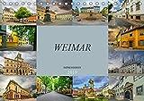 Weimar Impressionen (Tischkalender 2019 DIN A5 quer): Hier lebten Goethe und Schiller, Weimar. (Monatskalender, 14 Seiten ) (CALVENDO Orte) - Dirk Meutzner