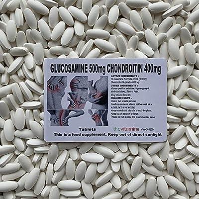 The Vitamin Glucosamine 2kcl 500mg & Chondroitin 400mg (120 Tablets - Bagged)