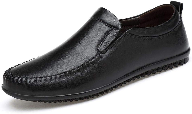 Suede cuir Décontracté chaussures Chaussures Décontracté chaussures Chaussures de Cricket (Couleur   Noir, Taille   41)