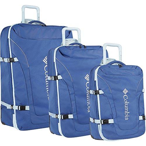 Columbia 3 Piece Luggage Set, Light Blue