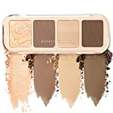NewBang Contour Palette Powder Contour Kit,Blush Palette 4 Highly Pigmented Shimmer&Matte Colors For Contouring And Highlighting Makeup-Vegan, Cruelty Free And Hypoallergenic