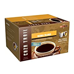 Blend of select coffees from Kona Moku on the Big island of Hawaii and Latin America Delicate body, vibrant acidity and a soft, subtle aroma call sundrenched tropical flora to mind Convenient for busy mornings or when you need an on-the-go treat Kosh...