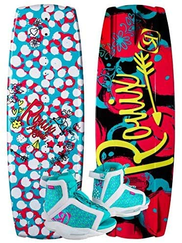 Ronix 120 August Girl's Wakeboard Package with August...