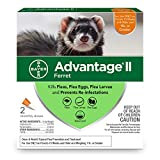 Advantage II Flea Prevention for Ferrets, Over 1 lb, 2 doses
