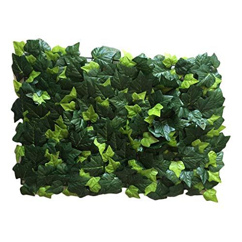PING- Artificial Hedge Panels 60x40cm, Hedge Plant Privacy Screen Protected By UV Light, for Garden Fence Backyard and Decoration (Color : 12pack)