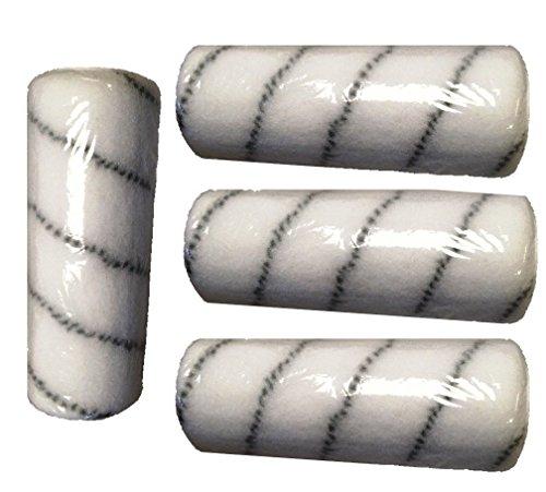 4 Stk. Polyamidrolle Rolle für 2K-Epoxidharz Bodenbeschichtung Epoxy Grundierung
