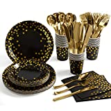 Black and Gold Party Supplies 17...