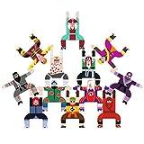 Hercules Stacking Blocks Game, Stacking Toys 3d Puzzle Building Games Kung Fu Boy Equilibrio de madera Acrobático Troupe Interlock Wooden Balance Block Juego educativo Juguete de regalo para niños
