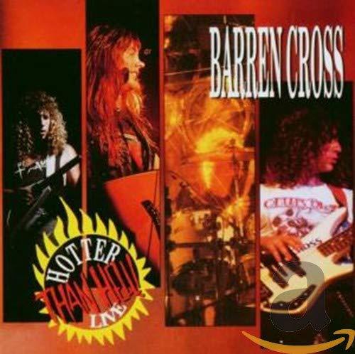 Barren Cross: Hotter Than Hell-Live (Audio CD (Live))