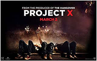 Project X (2012) 8 inch by 10 inch PHOTOGRAPH Title Poster kn