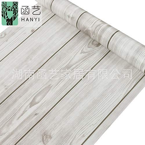 Woonkamer slaapkamer vloerlijn frame deurframe houtnerf slaapzaal houtnerf papier meubels stickers wanddecoratie behang 45cmx10m Wallpaper-4