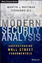 Modern Security Analysis: Understanding Wall Street Fundamentals