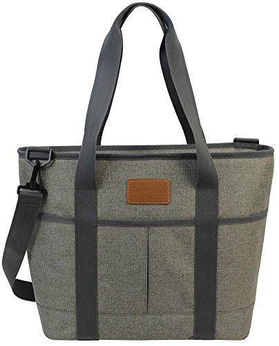 HappyPicnic 16L große Isoliertasche | 25 geeignet, wasserdicht, Kühler-Bag|-Box Picknick, Lunchbeutel für Outdoor, Camping, Strand, oder Reisen | Faltbare Lebensmittel-Aufbewahrung Bag MEHRWEG