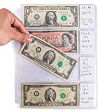 MINT CONDITION: If there's one thing that currency collectors know, it's the importance of keeping their collections in perfect condition CURRENCY COVERED: Bill Sleeves are a simple solution for currency collectors to keep their vintage currency fres...