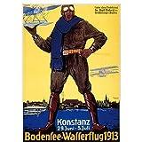 ZNNHERORetro World Travel Odensee-Wasserflug Konstanz