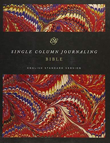 ESV Single Column Journaling Bible (Classic Marbled)