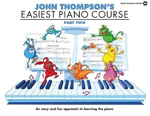 Easiest Piano Course 2: Part Two (acceso de audio en línea incluido)...