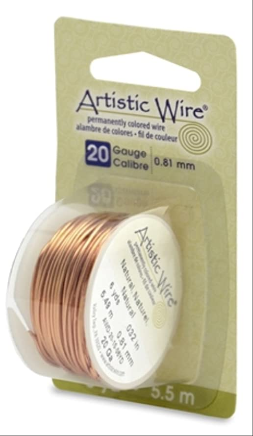 Artistic Wire 20-Gauge Natural Wire, 6-Yards