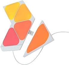 Nanoleaf SHAPES Triangles Mini Starter Kit - Smart WiFi LED Panel System w/Music Visualizer, Instant Wall Decoration, Home...