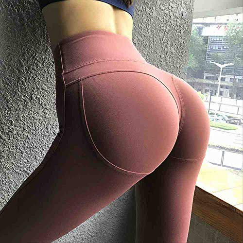 YGKDM Hoge Taille Yoga Broek Vrouwen Booty Naadloze Leggings Fitness Stretchy Gym Leggings Push Up Sport Leggings Scrunch Tights
