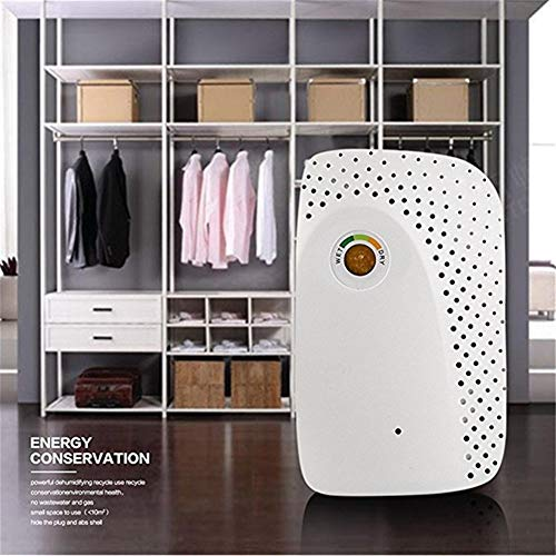 KEKOR Deshumidificador Mini deshumidificador portátil secador de Aire eléctrica del Agua de la máquina de Humedad Inteligente Absorber deshumidificador for el hogar (Color : A)