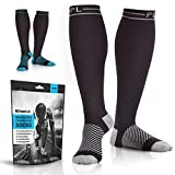 Powerlix Compression Socks for Women & Men (Pair) for Circulation, Neuropathy, Swelling & Pain...