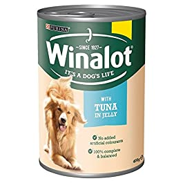 Winalot Classics with Tuna in Jelly 400g (Pack of 12 x 400g)