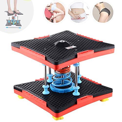 HYZXK Home Twist Run Stepper zur Gewichtsreduktion, multifunktionale Federbunddrehmaschine, tragbare Fußmassageplatte Drehplatte, A.