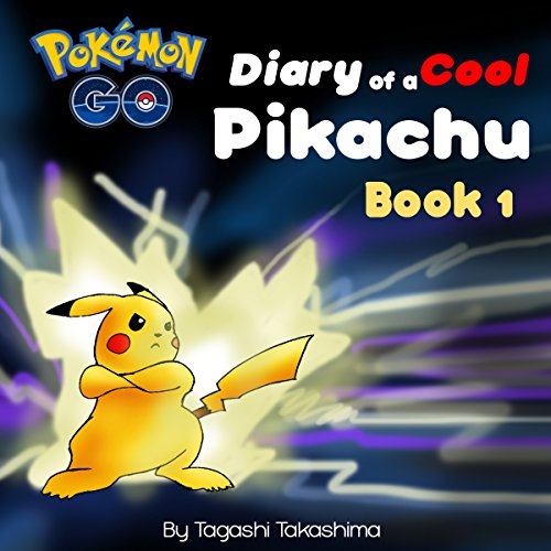 Diary of a Cool Pikachu audiobook cover art
