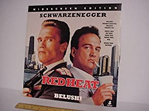 Laserdisc Laser Disc Of Red Heat, Widescreen Version.