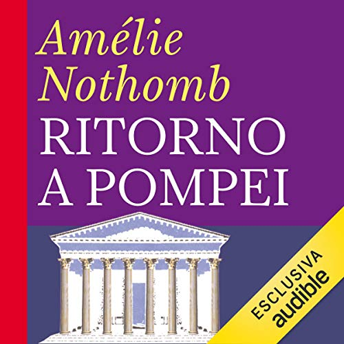 Ritorno a Pompei audiobook cover art