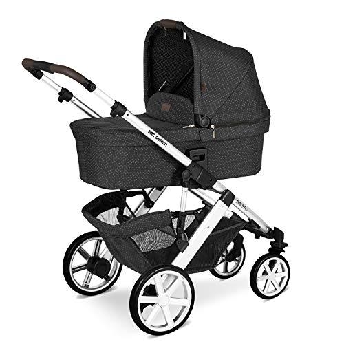 ABC Design Kinderwagen Salsa 4 Fashion Edition – Kombi-Wagen für Neugeborene & Babys bis 22kg – Inkl. Sportsitz & Tragewanne – Kleines Faltmaß & besonders leicht – Farbe: fox