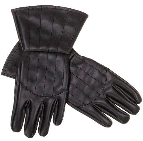 Rubies Star Wars tm Darth Vader tm Child Gloves   one size fit (accesorio de disfraz)