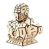 CXY-TOY Puzzle 3D de Madera Kit del Juguete, Marvel Iron Man Modelo, Navidad Regalos Hechos a Mano - Seguro y ambientalmente amistoso Kit Modelo de Madera