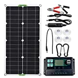 Paneles solares Kit De Panel Solar De 250W Completo Doble 12 / 5V...