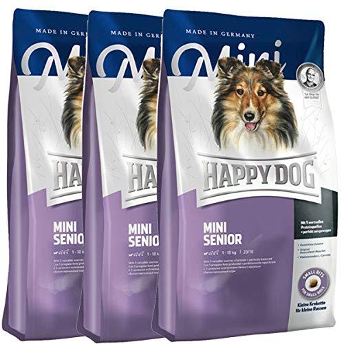 Happy Dog 3 x 4 kg Supreme Mini Senior