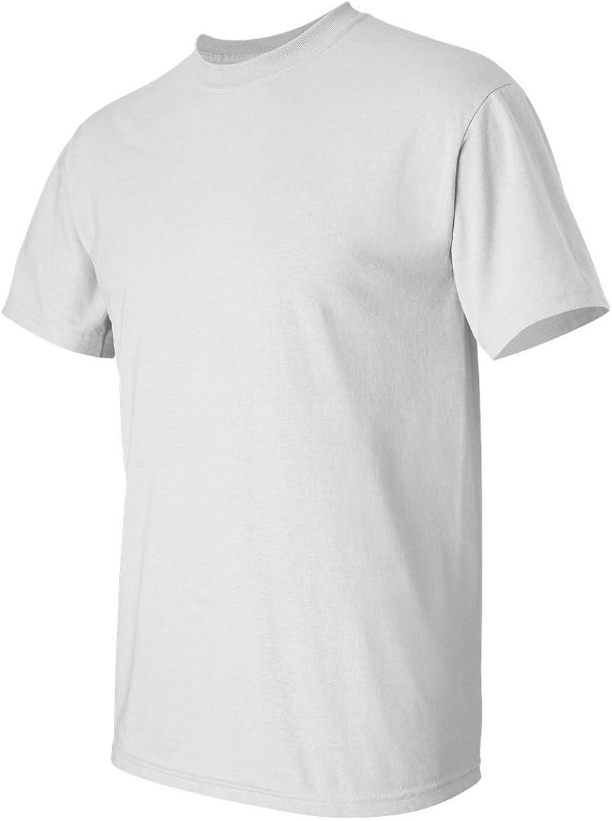 Gildan Activewear Ultra Cotton Tall Tee Shirt, 2XT, White